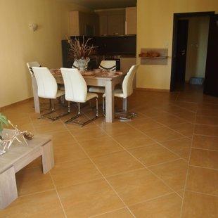 Испанская плитка легко поддерживать с помощью прилагаемого вакуума и пароочиститель.